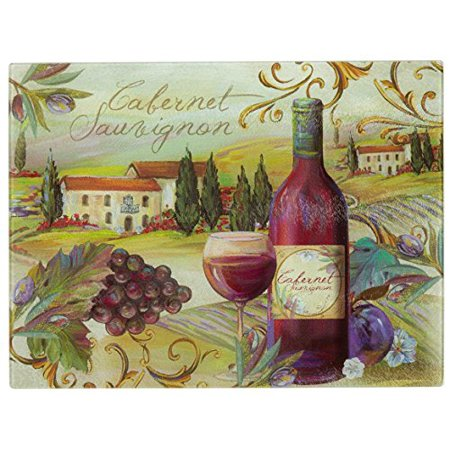 Nantucket Harvest - Nantucket Home Tempered Glass Cutting Board (15