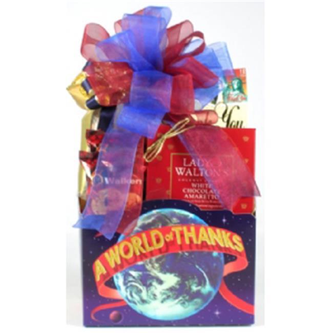 Gift Basket Village AWoOfTh-Sm A World Of Thanks Gift Basket
