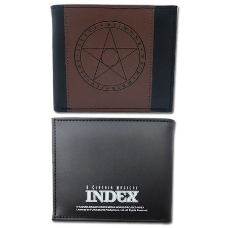Wallet - Certain Magical Index - New Magic Circle Bi-Fold Anime ge61876