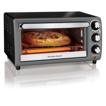 New Anvil Electric Countertop - Hamilton Beach Toaster Oven In Charcoal | Model# 31148