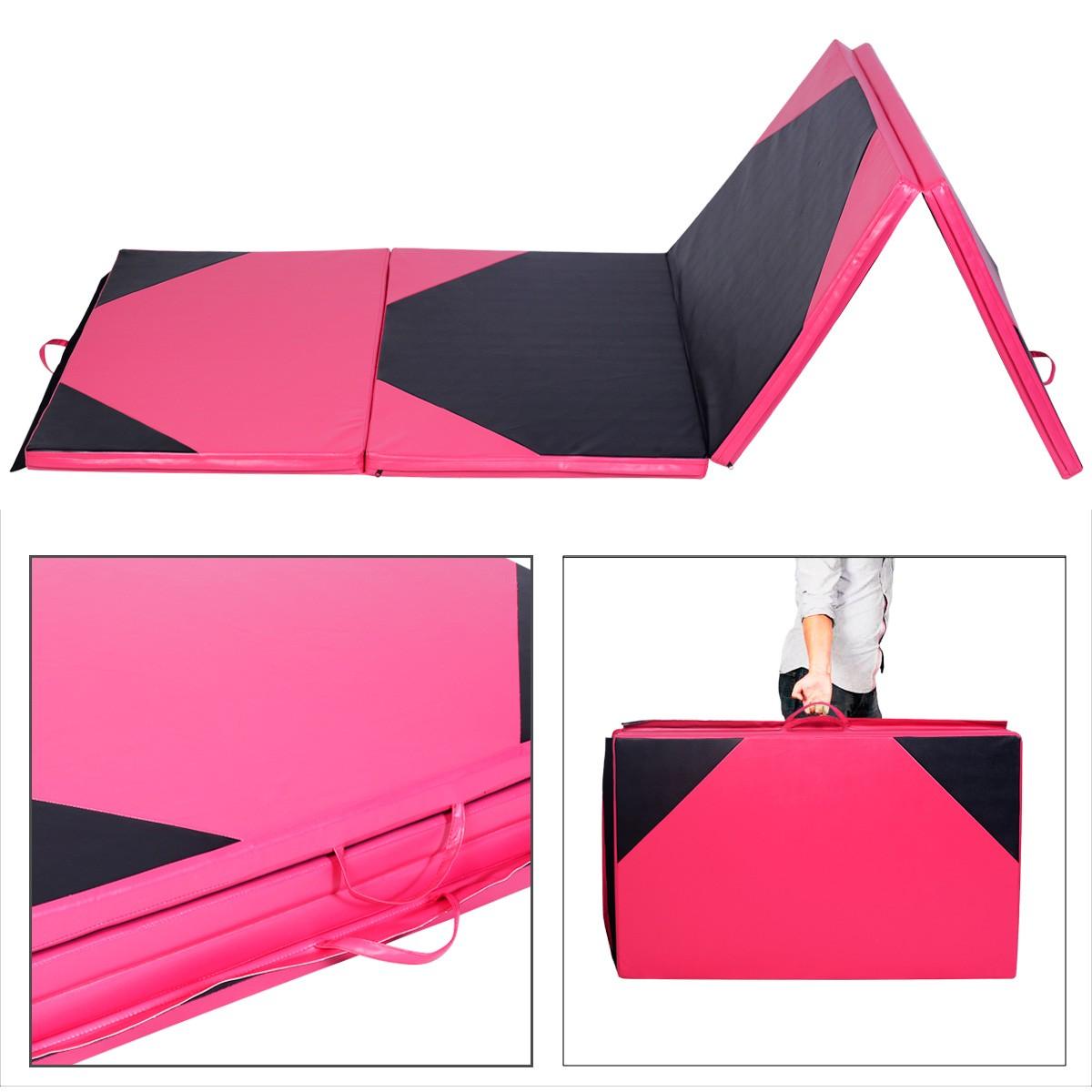 Apontus Thick Folding Exercise Gymnastics Mat Panel Gym Fitness