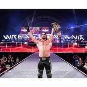 Seth Rollins with the Champiosnhip Belt Wrestlemania 31 Sports Photo (10 x 8)