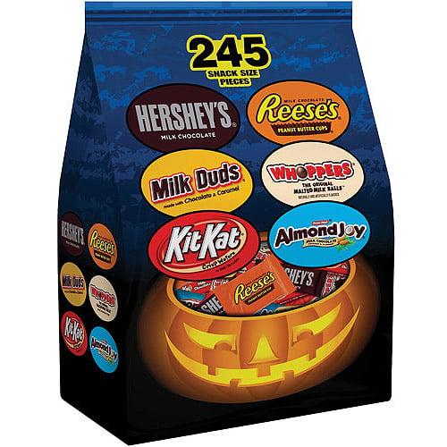 Hershey's Halloween Trunk or Treat Bag, 92.7 oz, 245 count