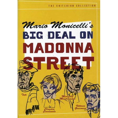 Big Deal on Madonna Street (Criterion Collection) - Deal Or No Deal Halloween