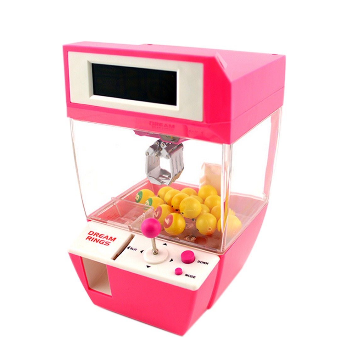 Coin Operated Candy Grabber Desktop Doll Candy Catcher