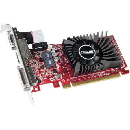 - Asus R7240-2GD3-L Radeon R7 240 Graphic Card - 730 MHz Core - 2 GB DDR3 SDRAM - PCI Express 3.0 - Low-profile - 1800 MHz Memory Clock - 128 bit Bus Width - 1920 x 1200 - CrossFire - Fan Cooler - Direc