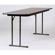 Set Leg Seminar Table - High Pressure Off (18 in. x 96 in./Med Oak)