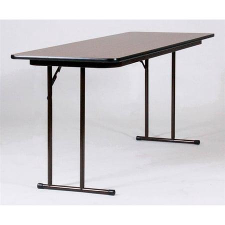 0.75 in. Set Leg Seminar Table (24 in. x 72 in./Dove Gray) (Seminar Table)