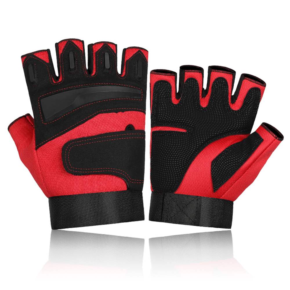 Mountaineering Protection Sports Gloves Half Finger Mittens Cycling Gloves