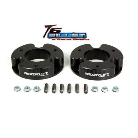 ReadyLift Suspension 04-07 Nissan Titan/Armada 2.0in T6 Billet Alum Leveling Kit Anodized -