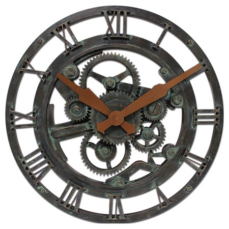 FirsTime Oxidized Gears Wall Clock ()