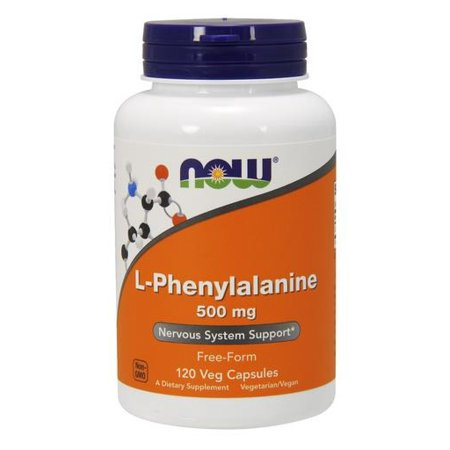 Phenylalanine 500mg Now Foods 120 Caps (Foods 120 Caps)