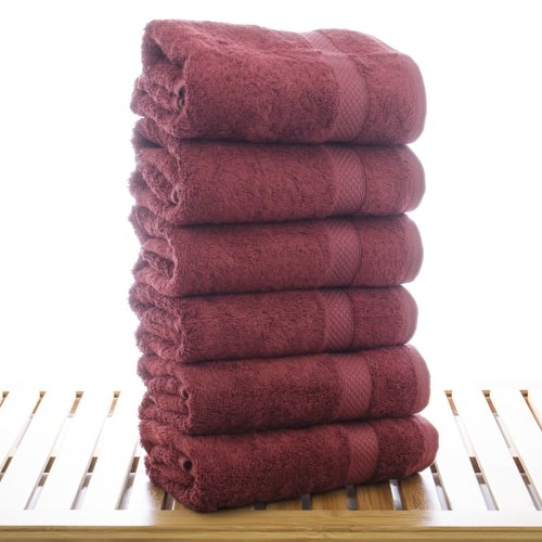 Bare Cotton Blossom Turkish Cotton Hand Towel (Set of 6)