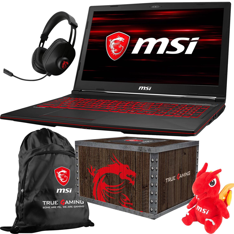 "MSI GL63 15.6"" Gaming Laptop (Intel 8th Gen 4 Core i5-8300H 2.3GHz Boost to 4.0GHz, 8GB DDR4 2666GHz, 1TB HDD 7200RPM, NVIDIA GeForce GTX 1050 4GB GDDR5 VRAM, Windows 10 Home 64-Bit) GL63 8RC-499"