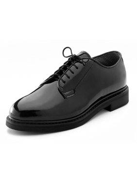 Product Image Rothco 5055 Men s Black High-Gloss Uniform Oxford Shoe 88511656a681