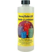 Snowflake Oil Bottle, 8 oz