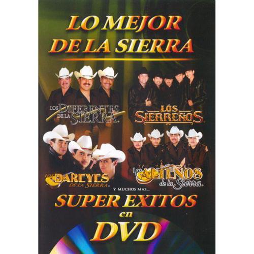 Super Exitos En DVD: Lo Mejor De La Sierra (Music DVD) (Amaray Case)