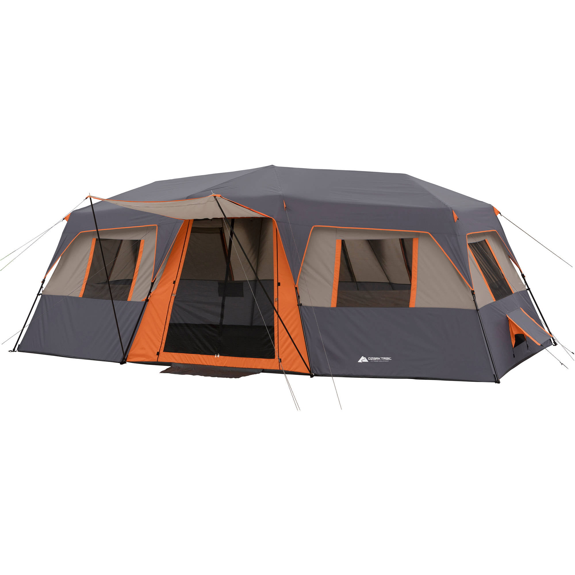Charmant Tahoe Gear Ozark 16 Person 3 Season Large Family Cabin Tent, Blue |  TGT OZARK 16   Walmart.com