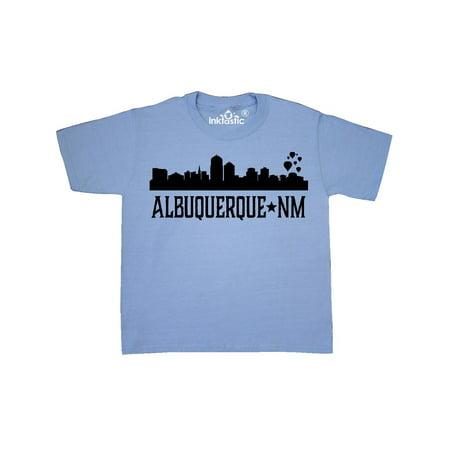 Albuquerque New Mexico City Skyline Silhouette Youth T-Shirt](Party City Albuquerque New Mexico)