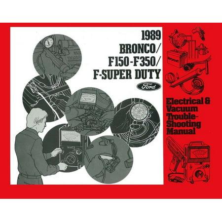Bishko OEM Repair Maintenance Shop Manual Loose Leaf for Ford Truck F150-350 - Evtm 1989 ()