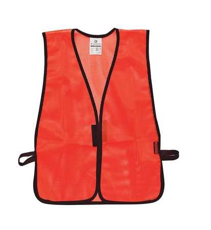 ML KISHIGO P Hi Vis Vest, Unrated, Universal, Orange