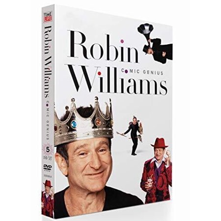 Robin Williams Comic Genius: 5-DVD Collection