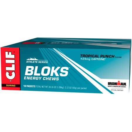 Clif® Athlete Series Bloks™ Tropical Punch Energy Chews 18-2.12 oz. (Clif Shot Bloks Margarita)
