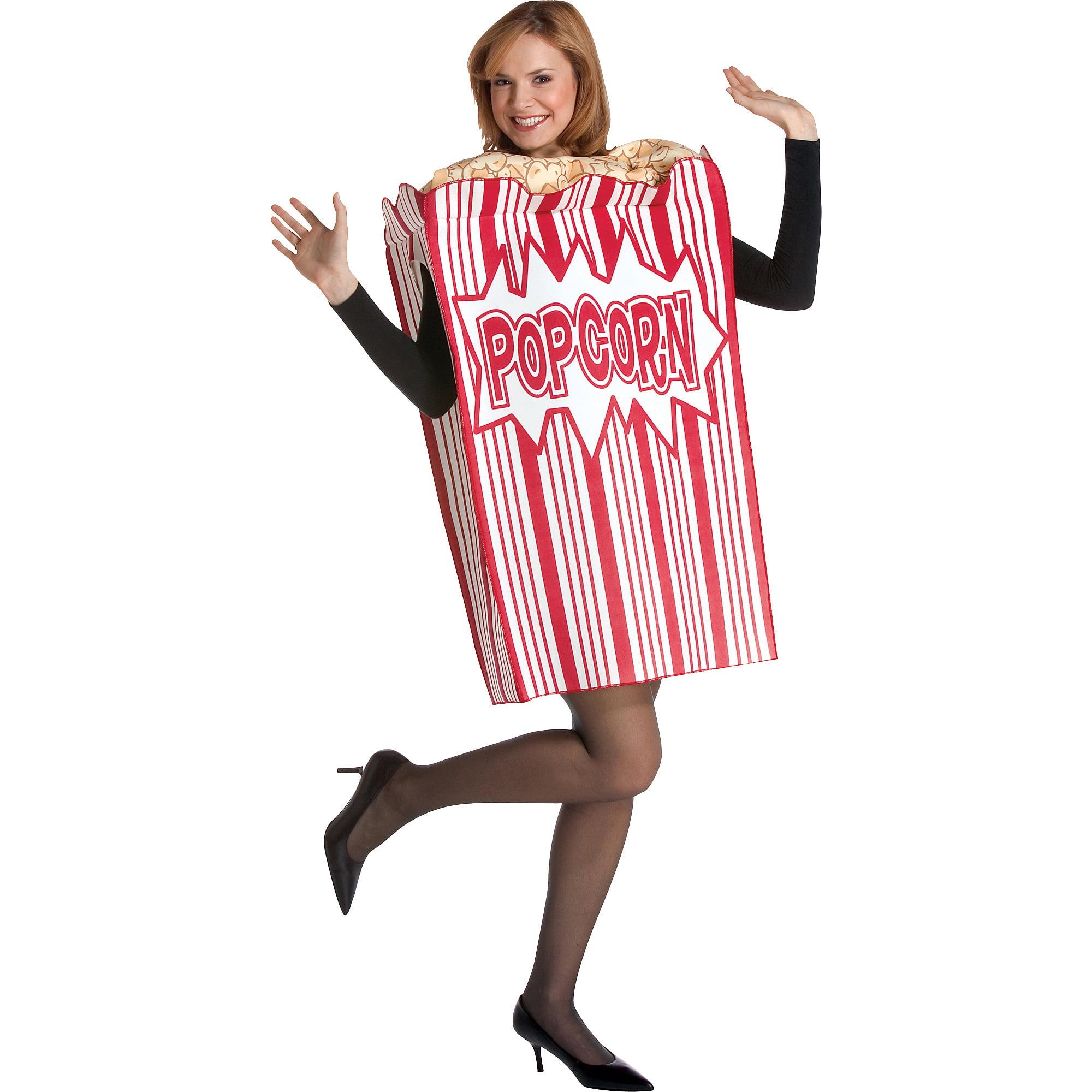 Movie Night Popcorn Adult Halloween Costume