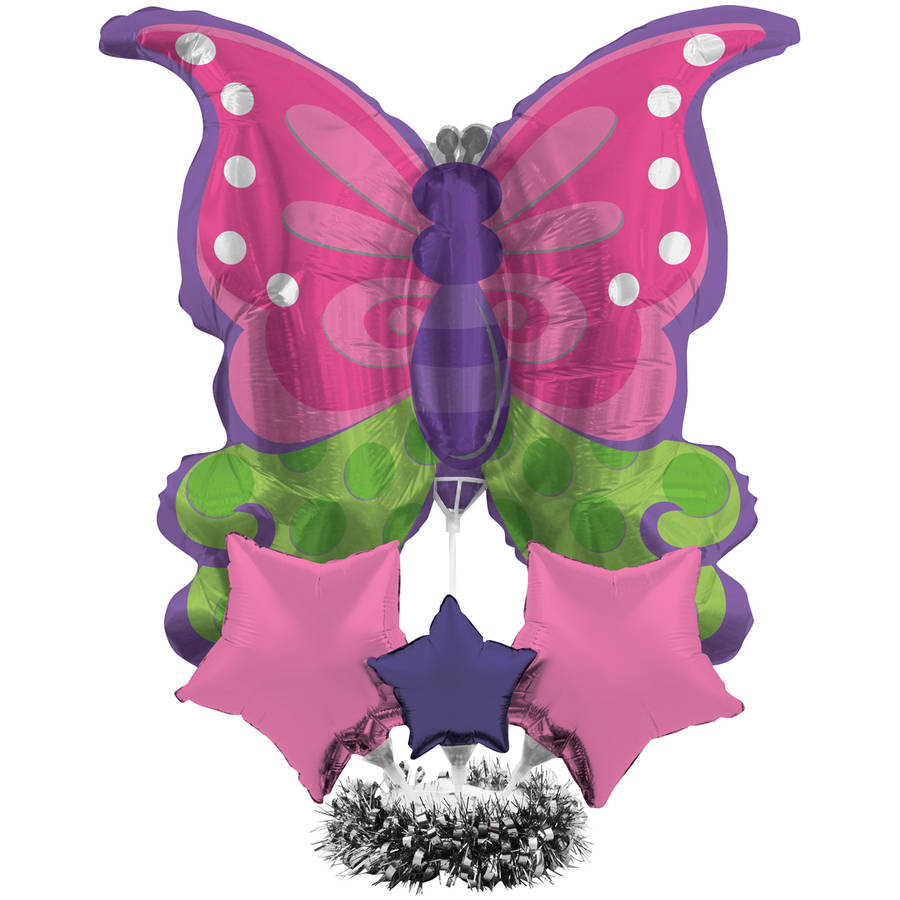 Image of Butterfly Air-Filled Balloon, 1pk