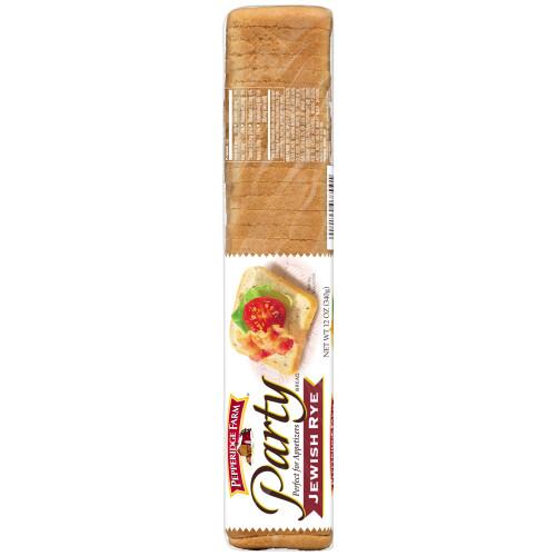 Pepperidge Farm Party Bread Jewish Rye Bread 12 Oz Bag Walmart Com Walmart Com