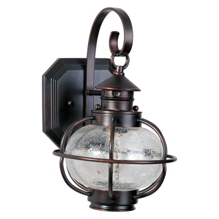 Maxim Portsmouth Outdoor Wall Lantern - 13H in. Oil Rubbed