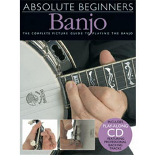 Hal Leonard Absolute Beginners Banjo (Book and CD) by Music Sales