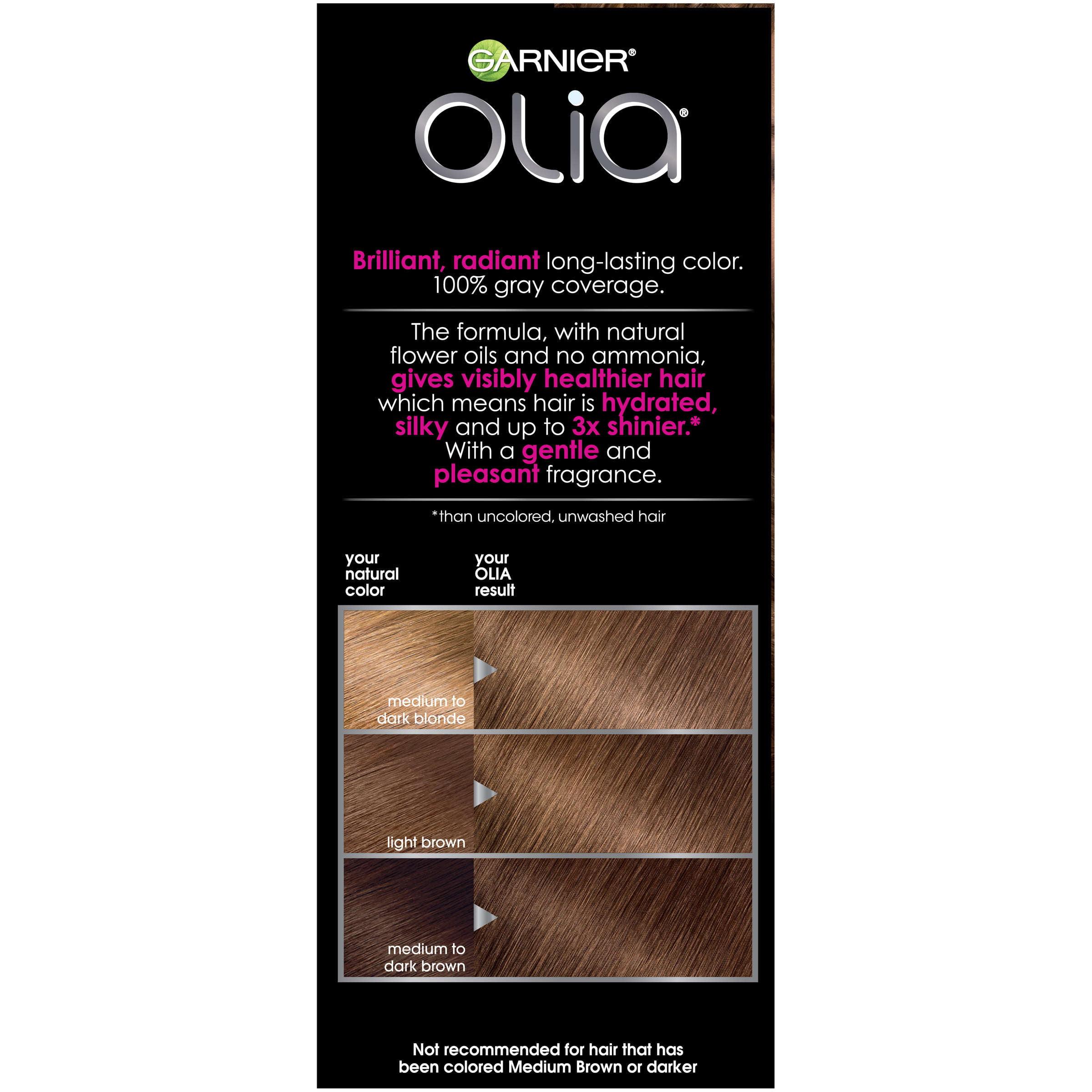 Garnier Olia Oil Powered Permanent Hair Color 60 Light Brown
