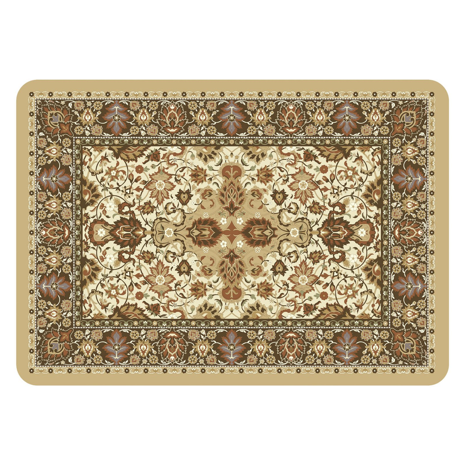 Bungalow Flooring Tabriz Indoor   Outdoor Doormat 1.83 x 2.58 ft. by