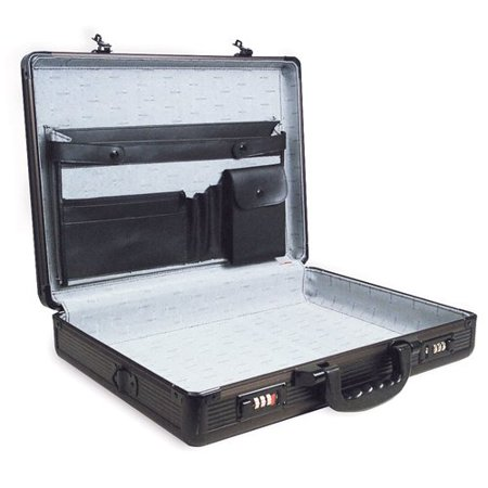 - SPC-941G Black 17.5 x 4 x 13 Aluminum Briefcase Multi-Colored