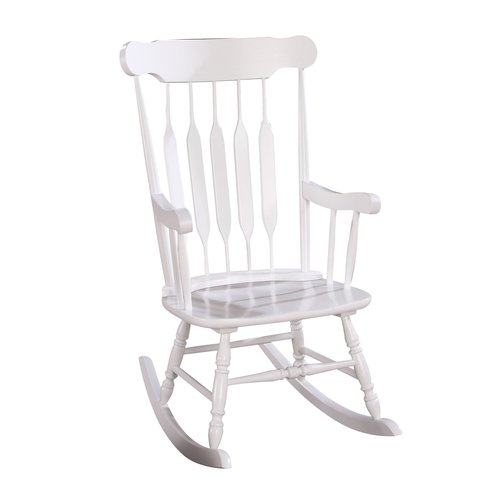 ACME Kaia Rocking Chair, White by Acme Furniture
