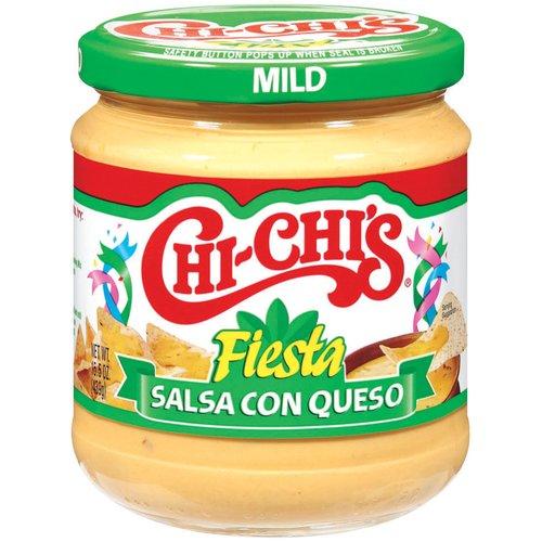 Chi-Chi's Fiesta Mild Salsa Con Queso, 15.5 oz