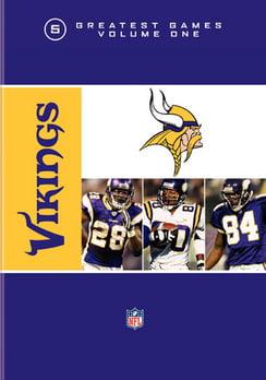 NFL Vikings 5 Greatest Games Volume 1 (DVD) by Warner
