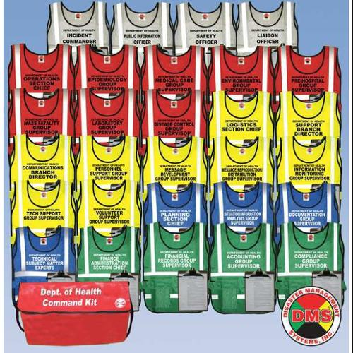 DMS DMS 05585 Department of Health Vest Kit,29Vests