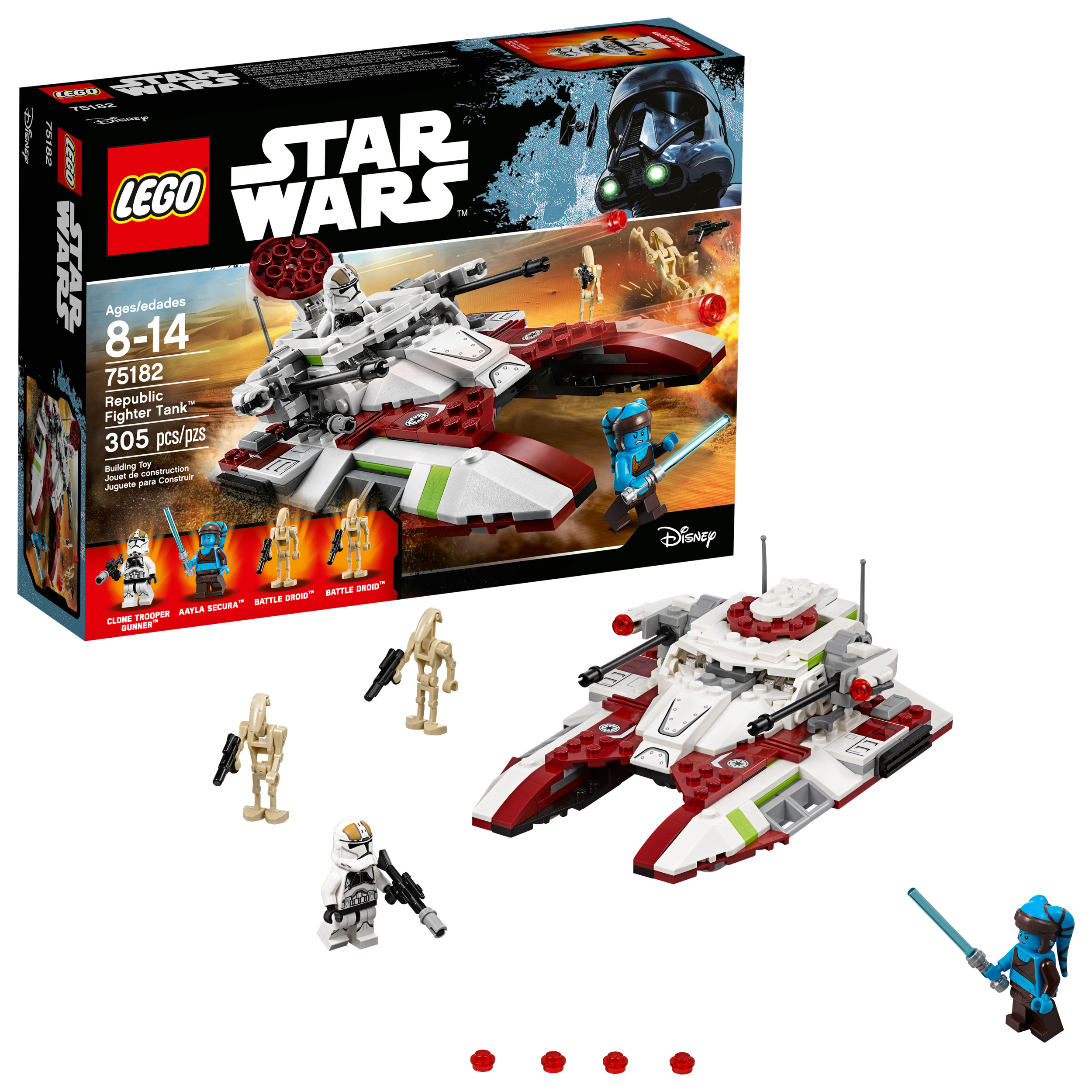 LEGO Star Wars TM Republic Fighter Tank 75182