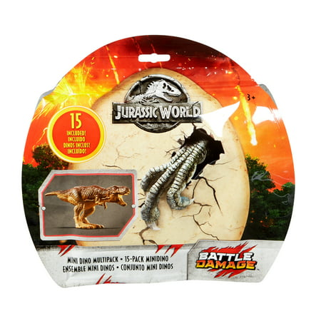 Jurassic World Mini Dino 15 Dinosaurs Multipack for Ages 3Y+ for $<!---->