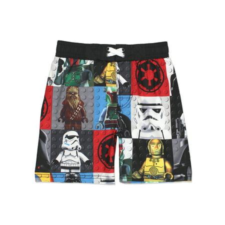1fdda7a27f LEGO - Lego Star Wars Little Boy's Swim Trunks Swimwear VLB010LYT -  Walmart.com