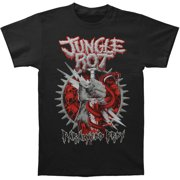 Jungle Rot Men's  Paralyzed Prey T-shirt Black