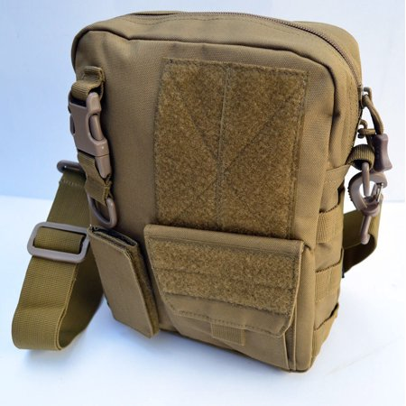 60+pc First Aid Kit Bag Pouch Trauma Medical Utility IFAK Molle Bug Out (Tan #3)