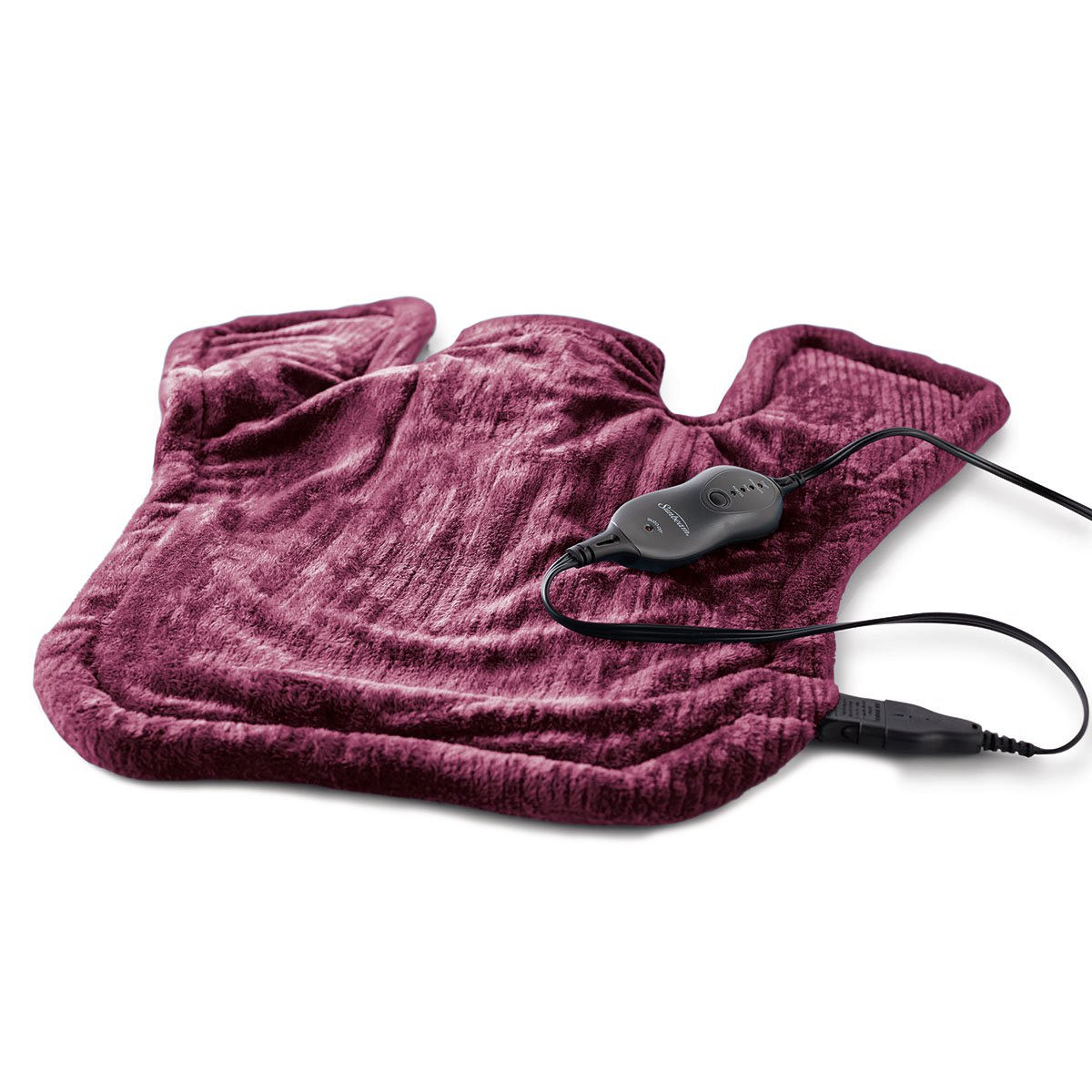 Sunbeam XL Renue Heat Therapy Wrap, Burgundy