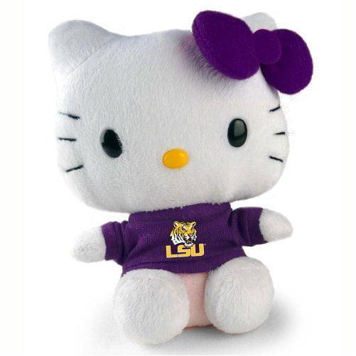 Hello Kitty 6 Lsu Tigers Collegiate Collectible Plush Toy Walmart Com