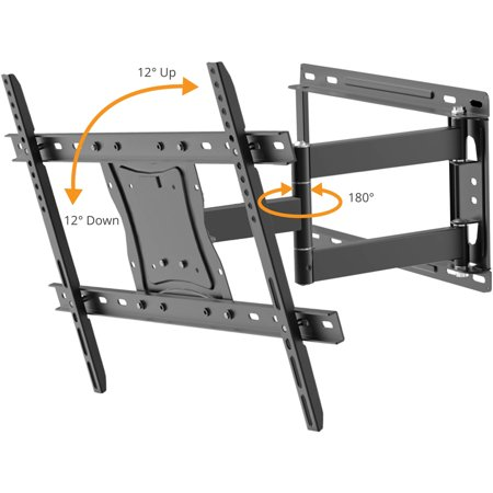 Onn Full Motion Wall Mount For 19 Quot 84 Quot Best Tv Mounts