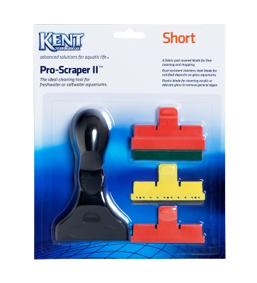 Kent Marine Short Progessional Grade ProScraper II For Freshwater and Saltwater Aquarium