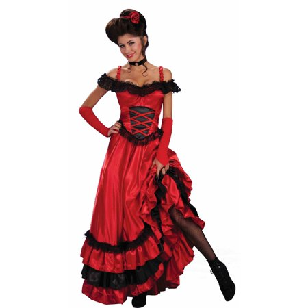 Saloon Girl Costumes Plus Size (Saloon Sweetie Costume)