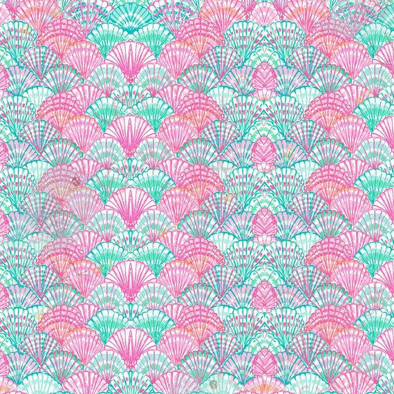 Soft Shells Lilly Inspired Small Scale Vinyl Sheet